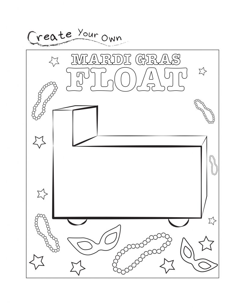 Mardi Gras Float Worksheet