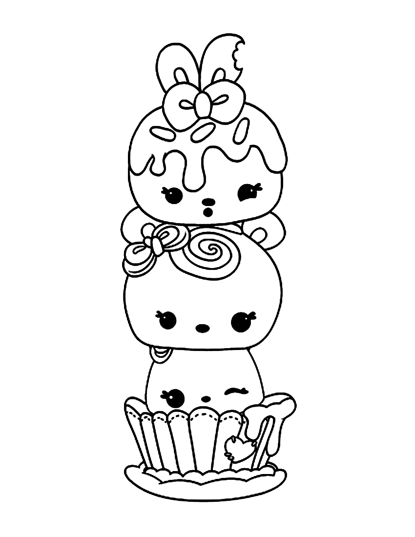 Num Noms Coloring Pages - Best Coloring Pages For Kids