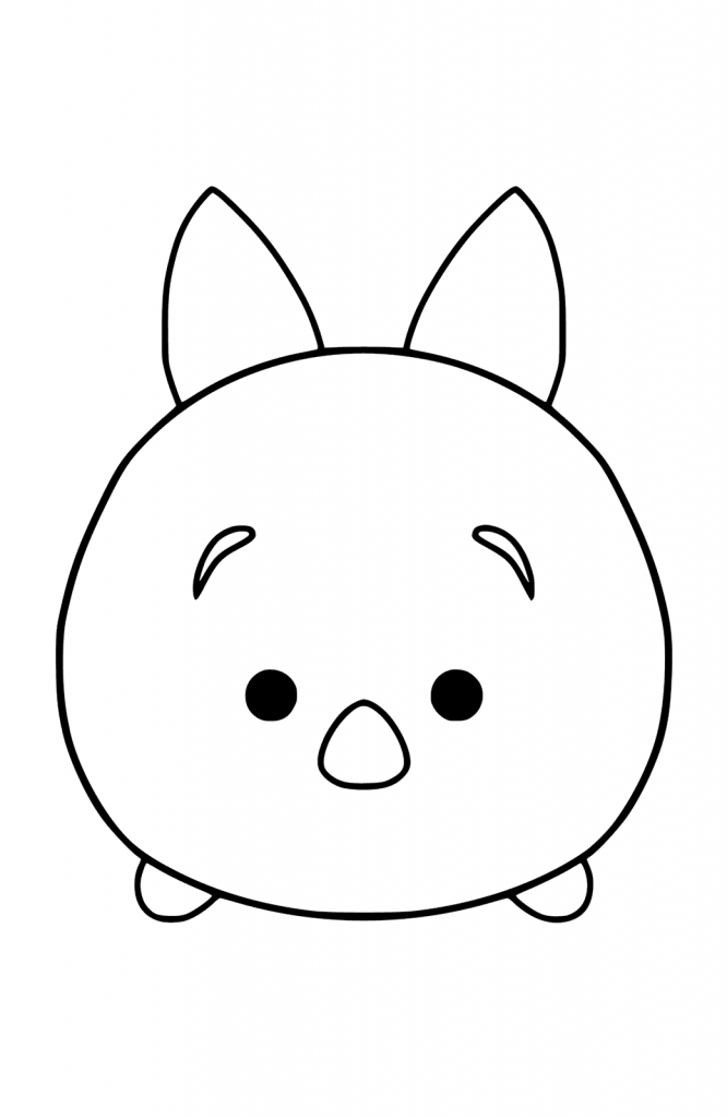 Tsum Tsum Coloring Pages - Best Coloring Pages For Kids
