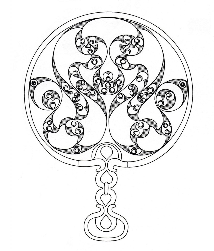 Print Celtic Coloring Pages