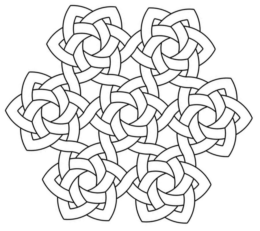 Printable Celtic Coloring Pages