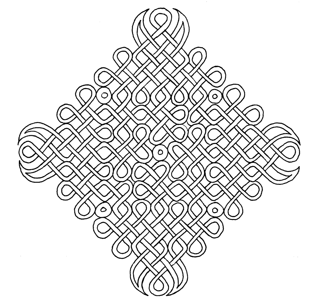 Printable Celtic Symbol Coloring Pages