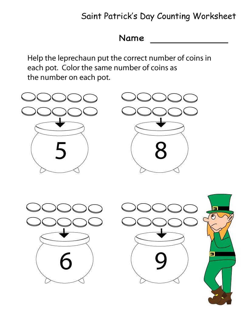 St Patricks Day Worksheets Best