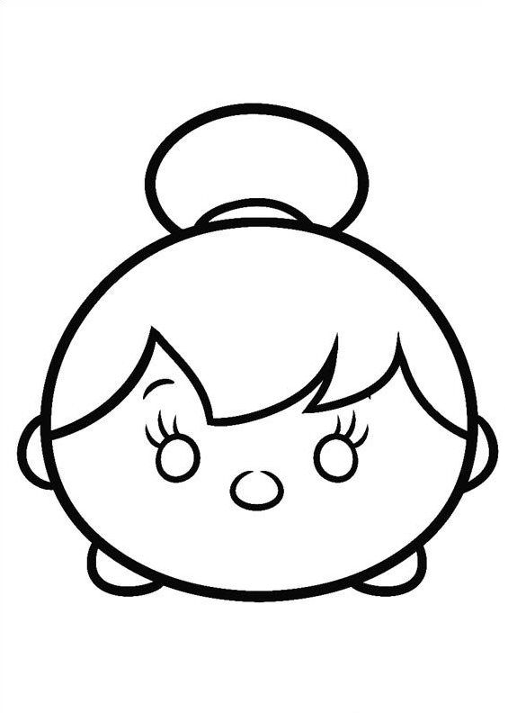 Tsum Tsum Coloring Pages Best Coloring Pages For Kids