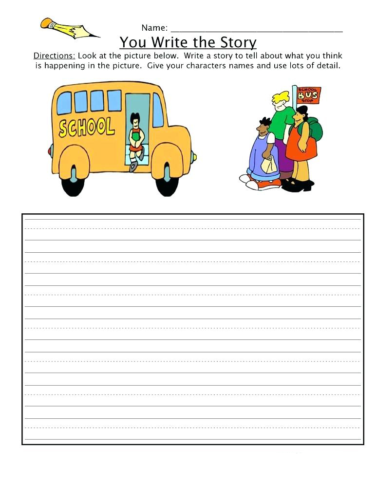 2nd Grade Write the Story Worksheet