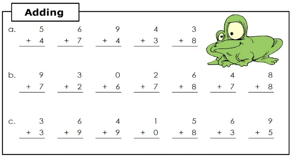 Adding 1st Grade Math Worksheets