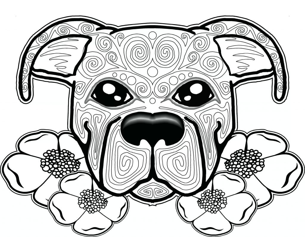 Adult Coloring Pages Zendog