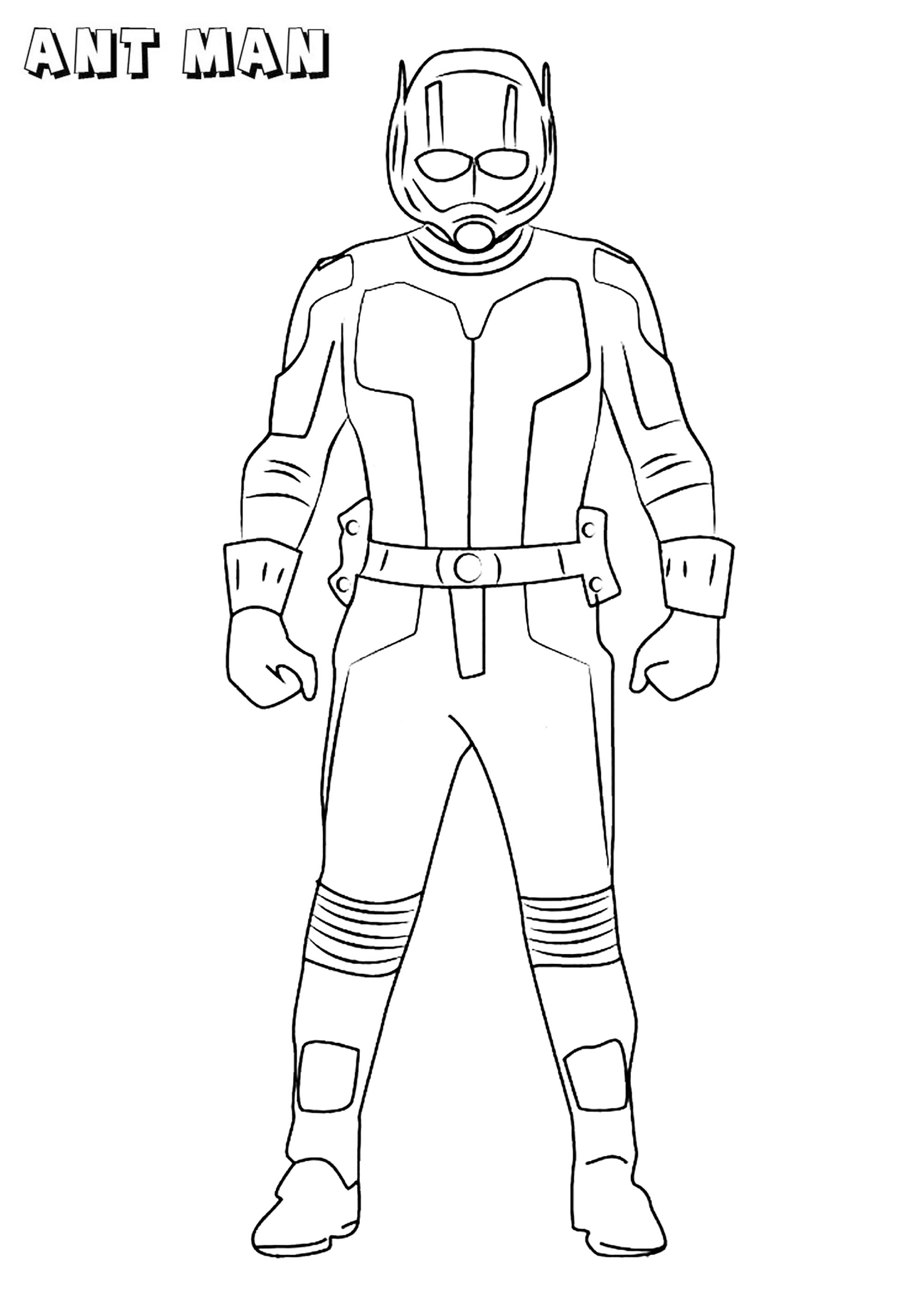 Ant Man Coloring Pages - Best Coloring Pages For Kids