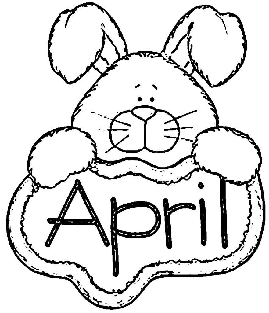 April Bunny Coloring Pages