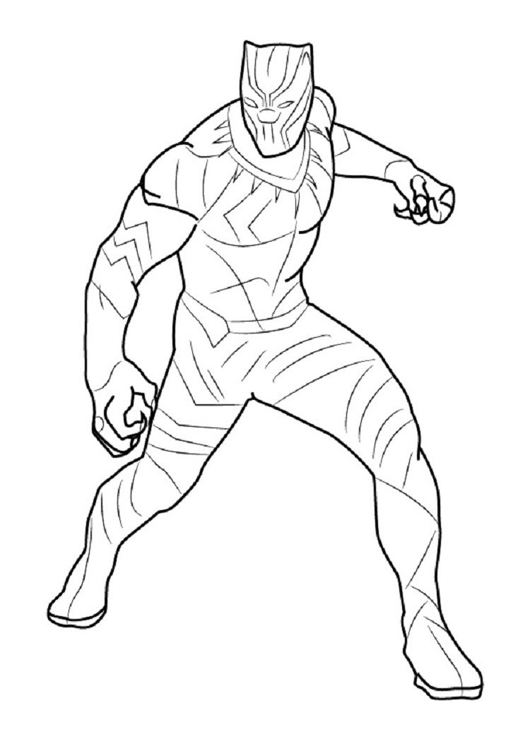 - Black Panther Coloring Pages - Best Coloring Pages For Kids