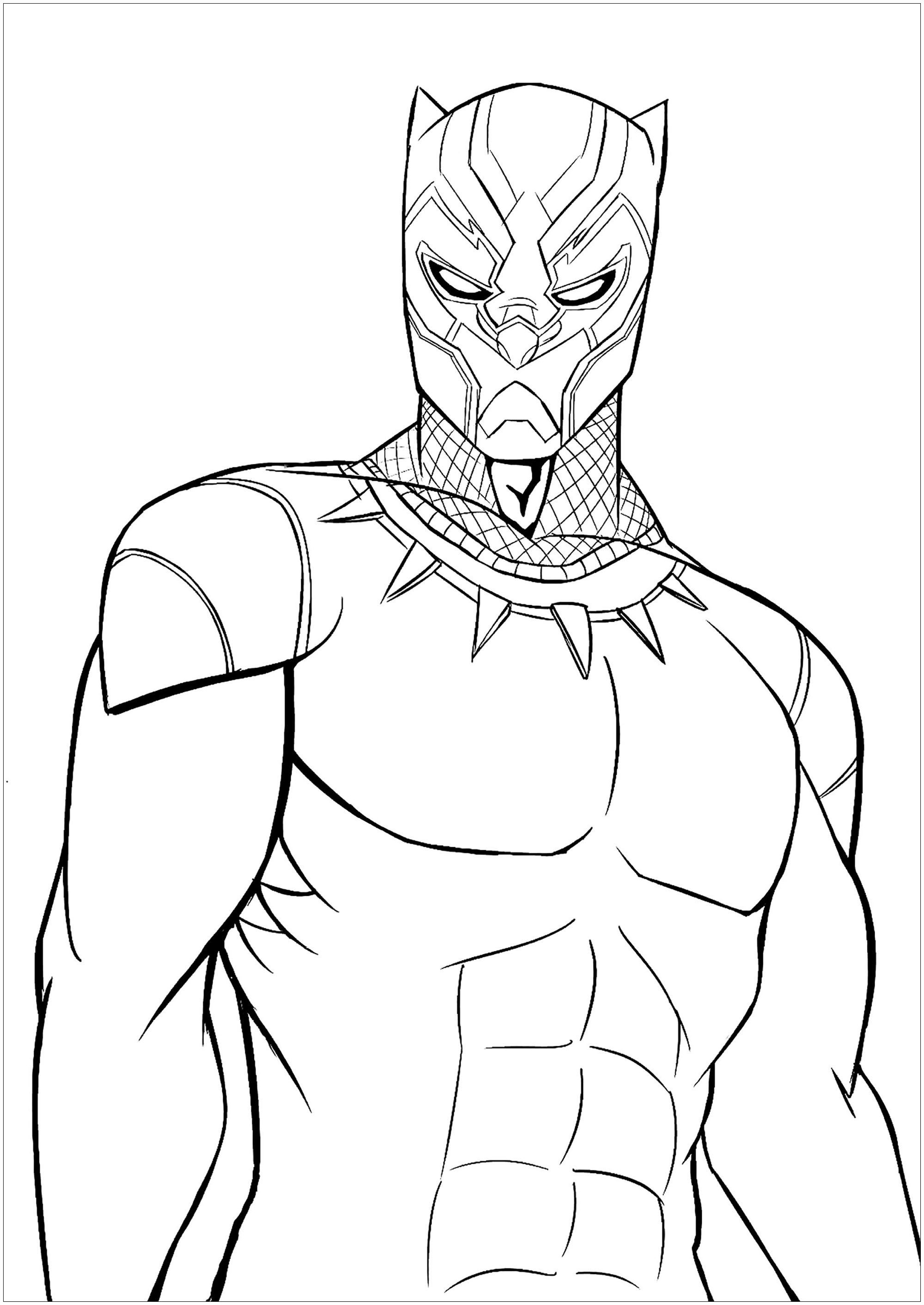 Black Panther Coloring Pages Best Coloring Pages For Kids