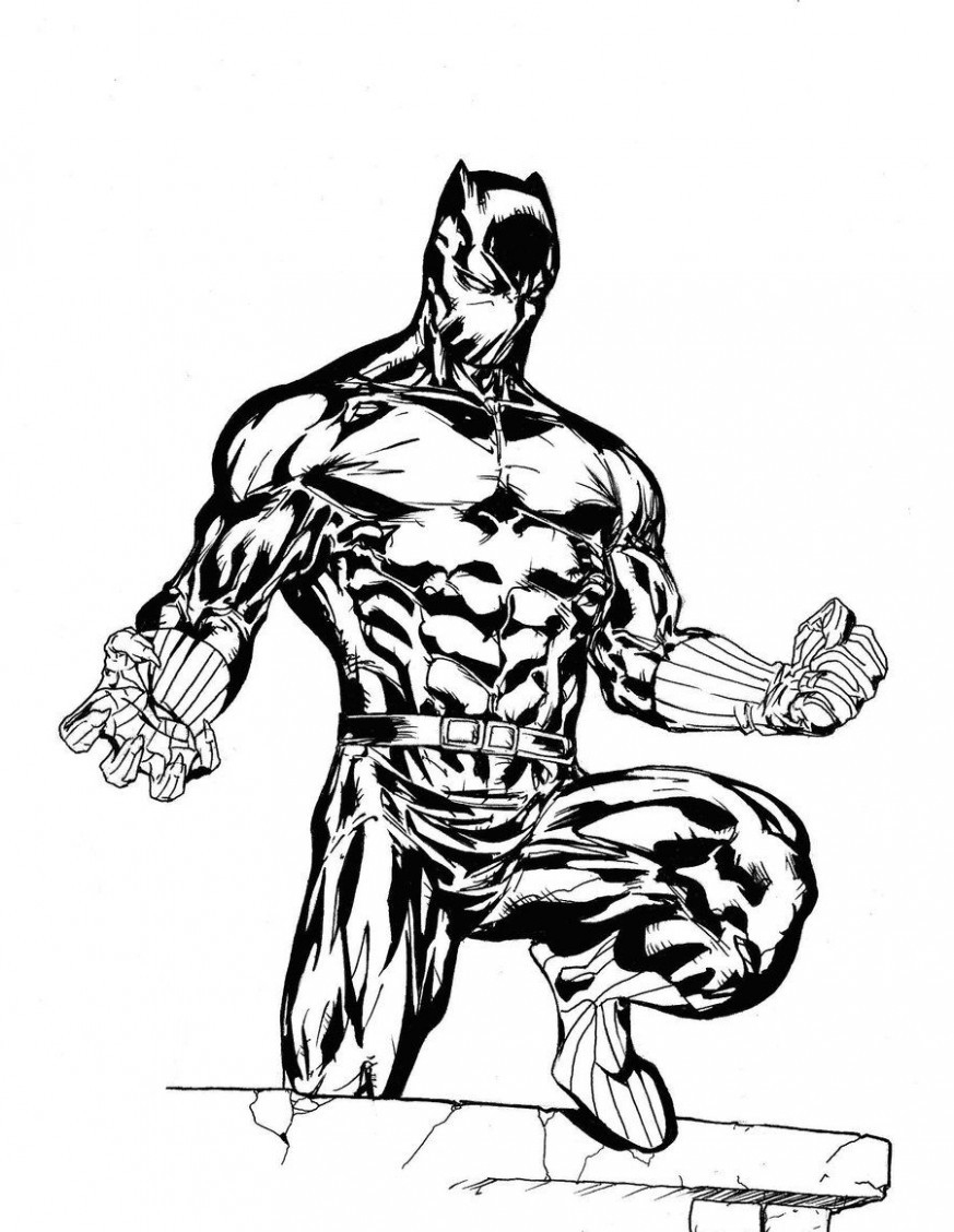 coloring pages black | Black Panther Coloring Pages - Best Coloring Pages For Kids
