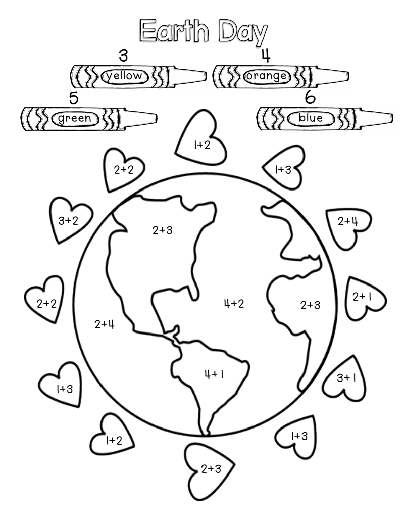 Earth Day Worksheets Best Coloring Pages For Kids