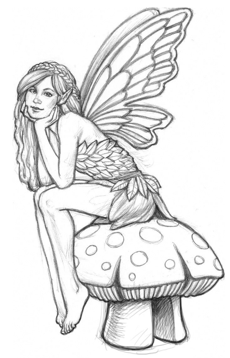 Cute Adult Coloring Pages