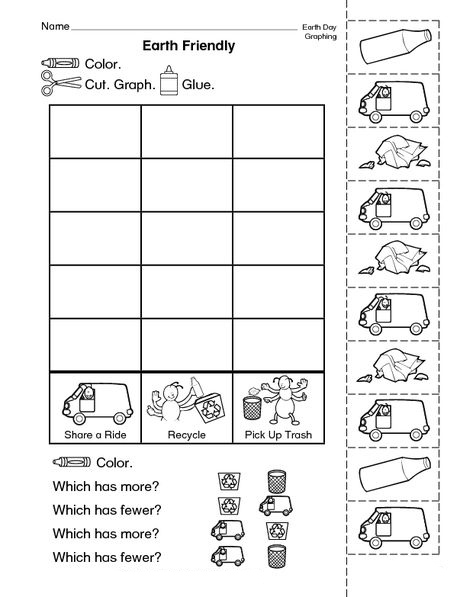 Earth Friendly Worksheet
