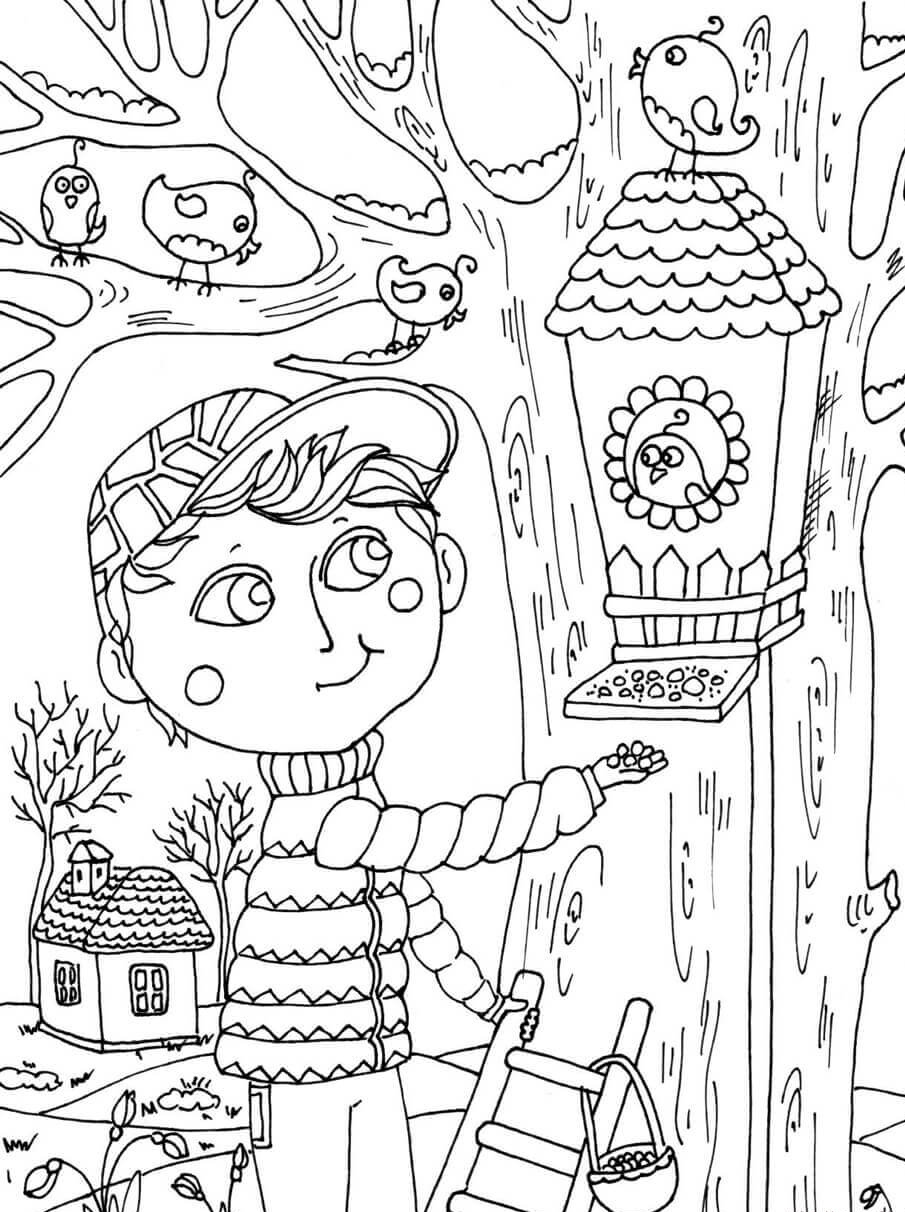April Coloring Pages Best Coloring