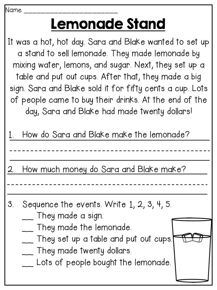 2nd Grade Worksheets - Best Coloring Pages For Kids