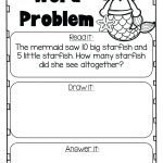 Math Word Problem 2nd Grade Worksheet