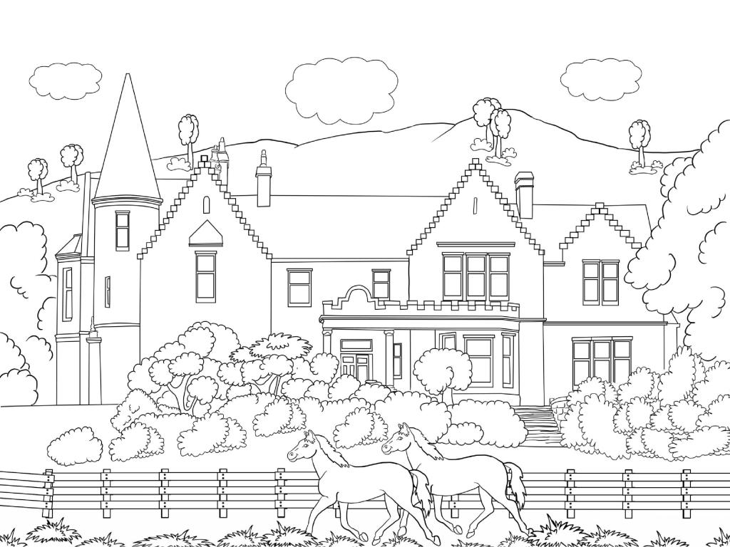 Farm Coloring Pages – coloring.rocks! | 768x1024