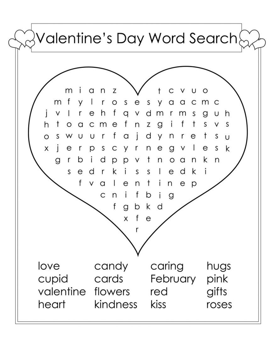 2nd Grade Word Search - Best Coloring Pages For Kids