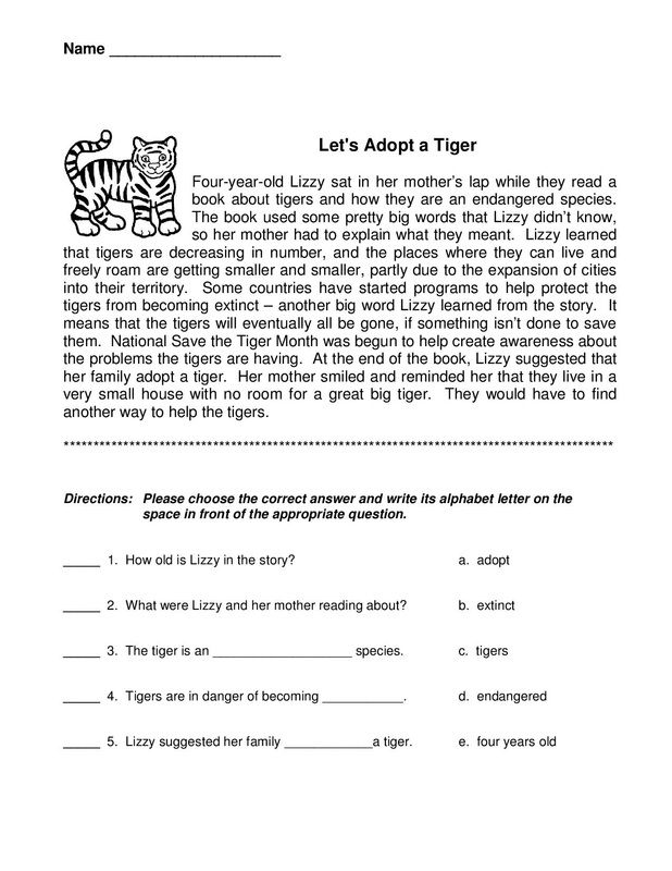 3rd Grade Worksheets - Best Coloring Pages For Kids