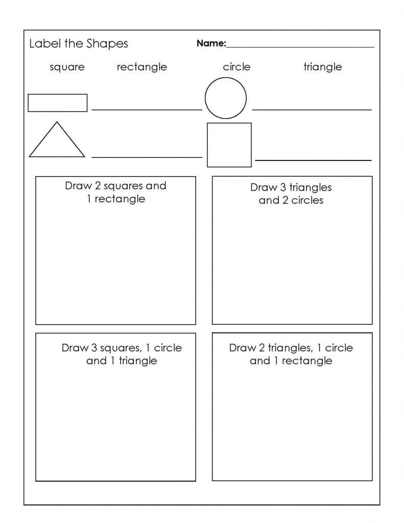 3rd Grade Worksheets Shapes