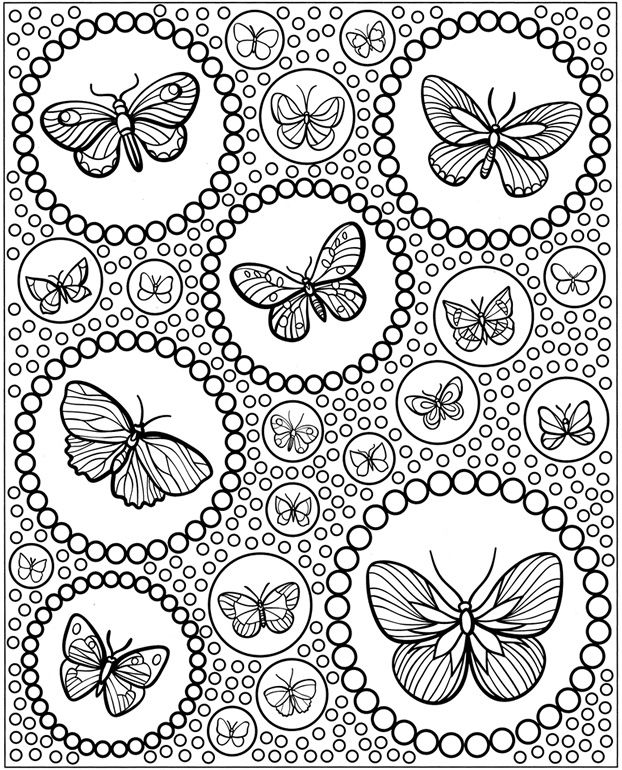 Butterfly Coloring Pages For Adults Best Coloring Pages For Kids