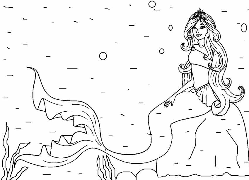 Refreshing image throughout mermaid coloring pages printable