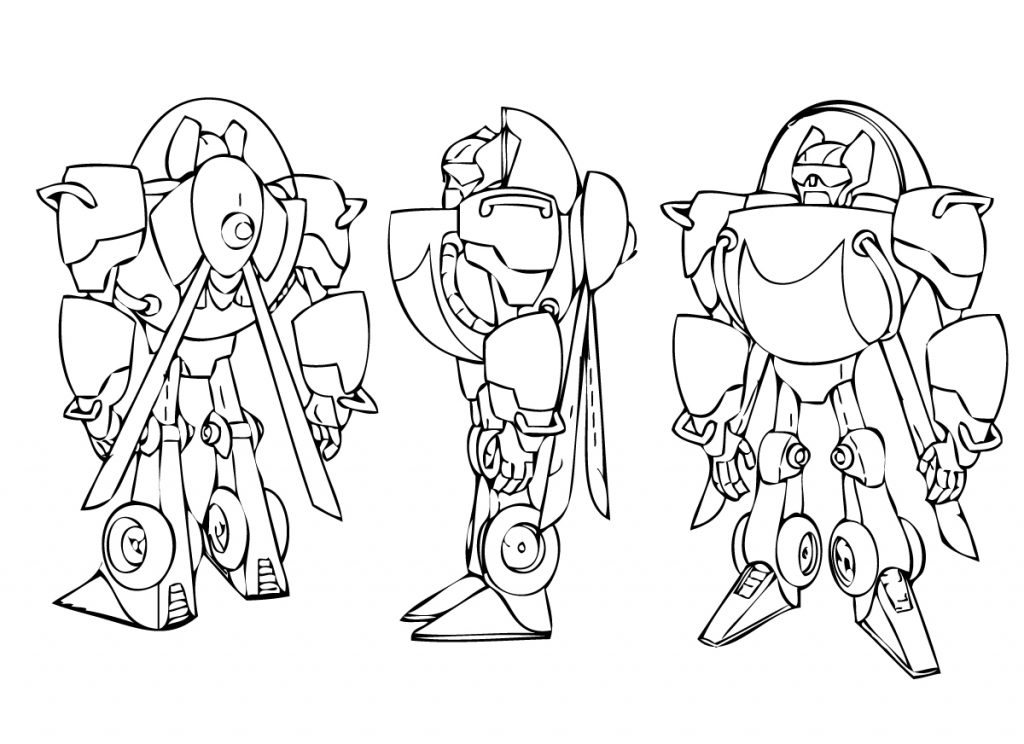 Blurr Rescue Bots Coloring Page
