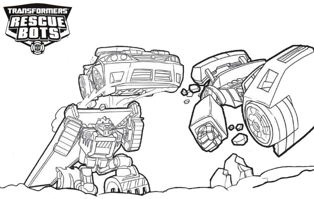Color Transformers Rescue Bots
