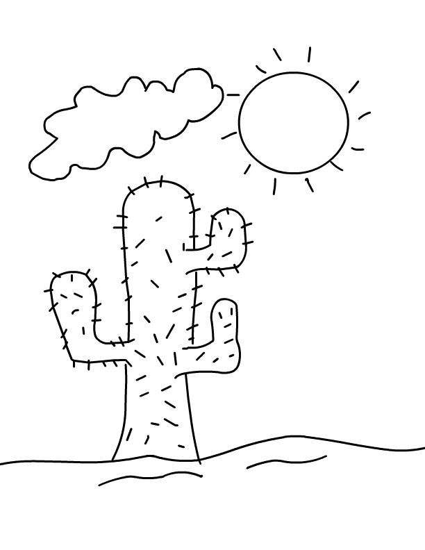 Free printable desert coloring pages ~ Desert Coloring Pages - Best Coloring Pages For Kids