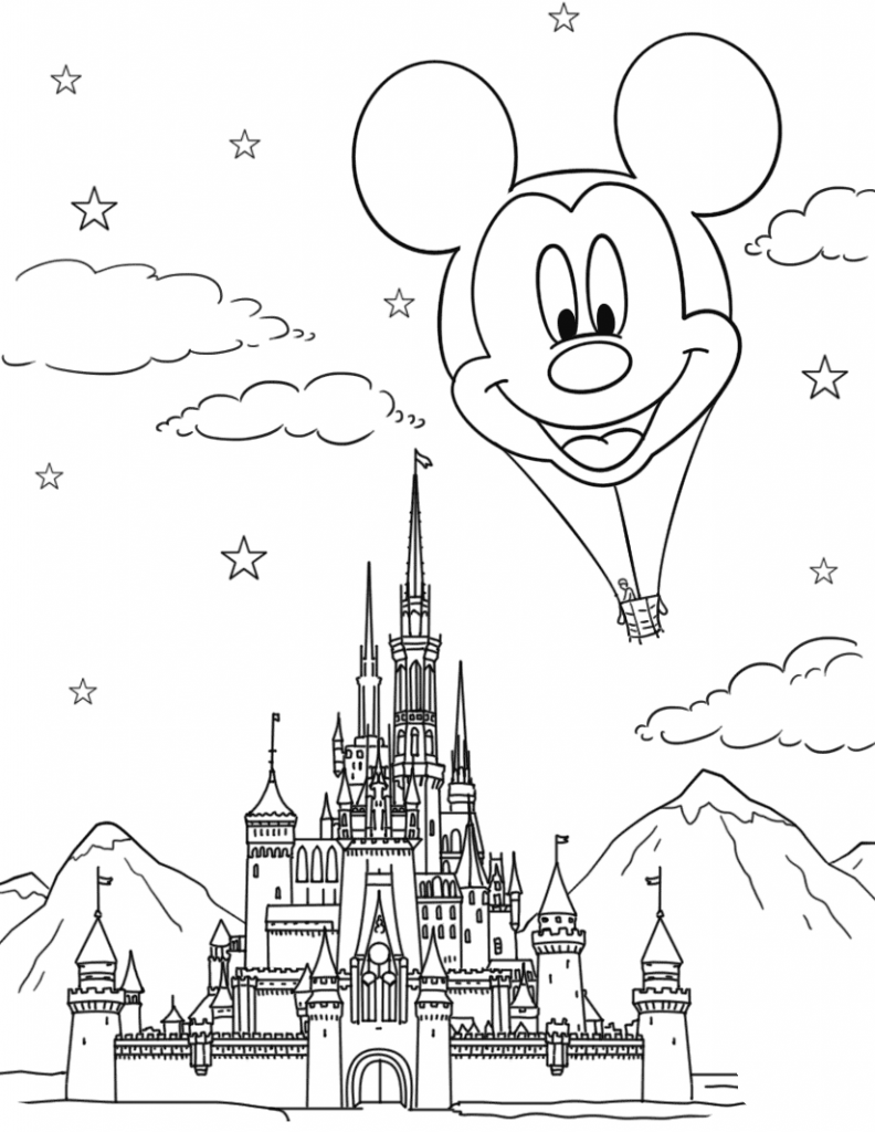 Disney Coloring Pages for Adults - Best Coloring Pages For ...