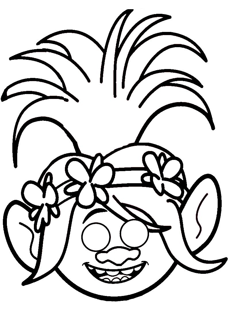 Poppy Coloring Pages Best Coloring Pages For Kids