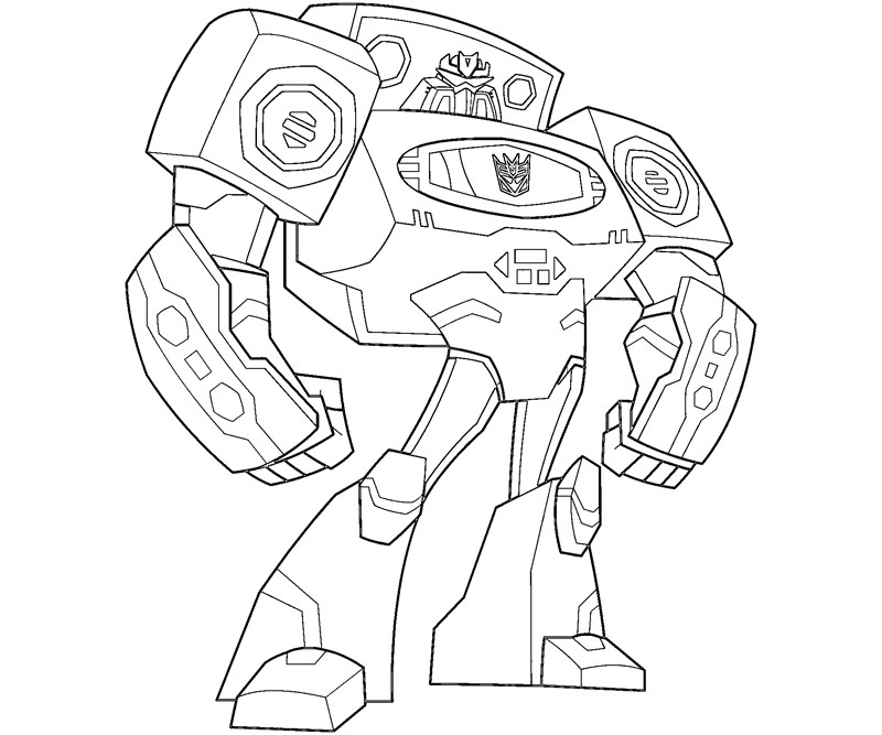 Rescue Bots Autobot Coloring Pages