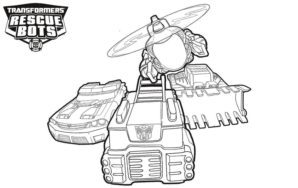 Rescue Bots Coloring Pages Best