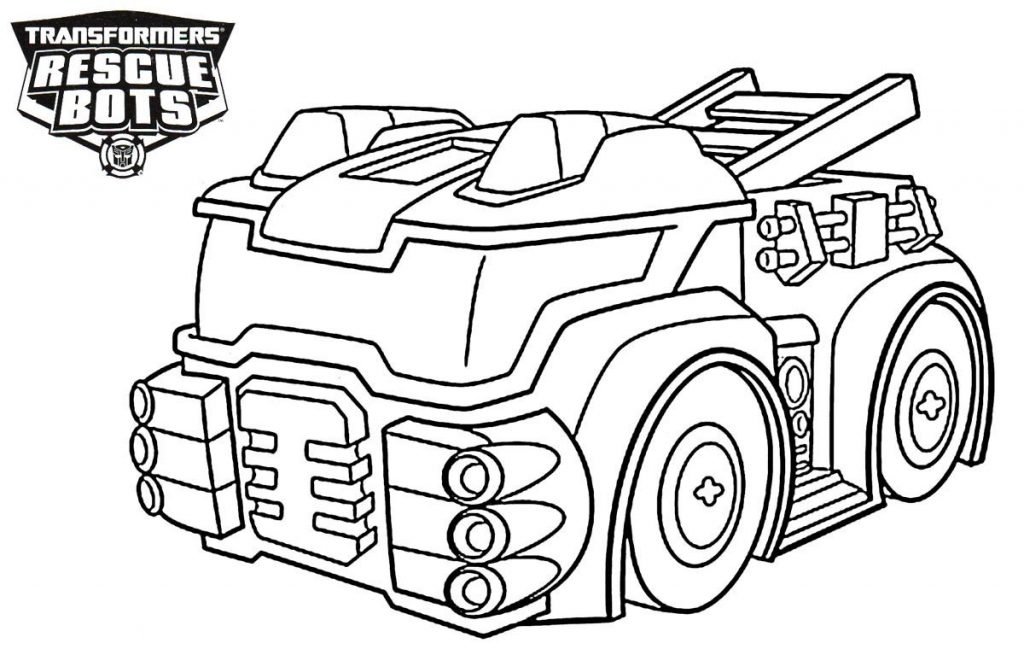 Rescue Bots Coloring Pages Best Coloring Pages For Kids