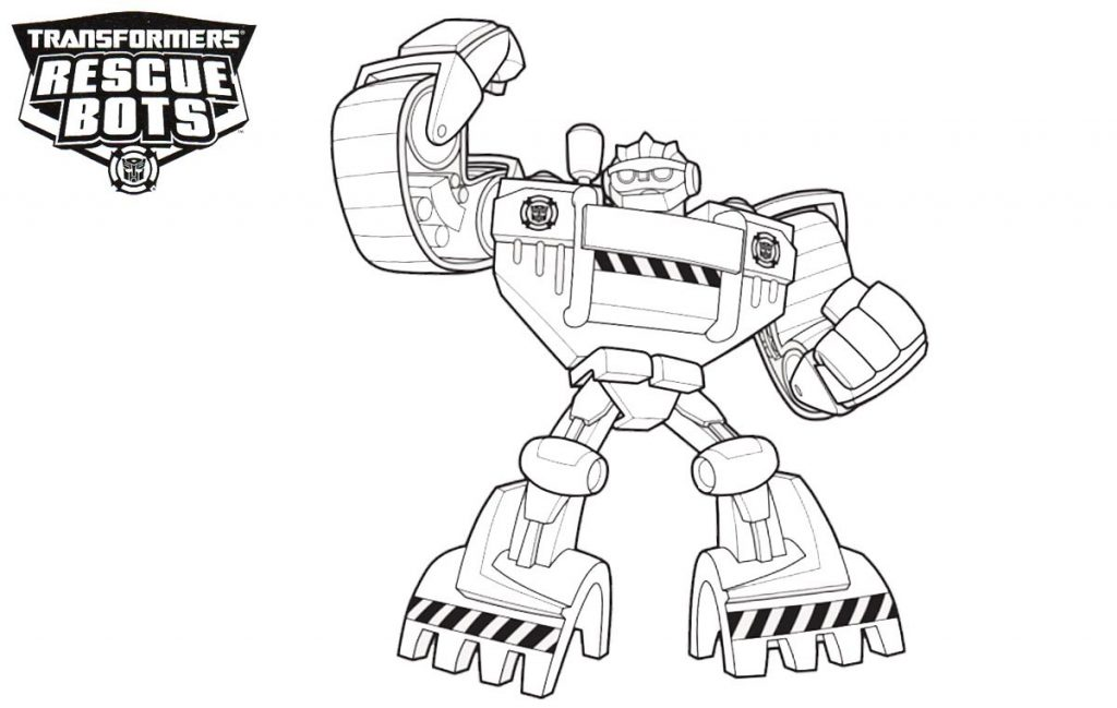 Rescue Bots Printable Coloring Pages