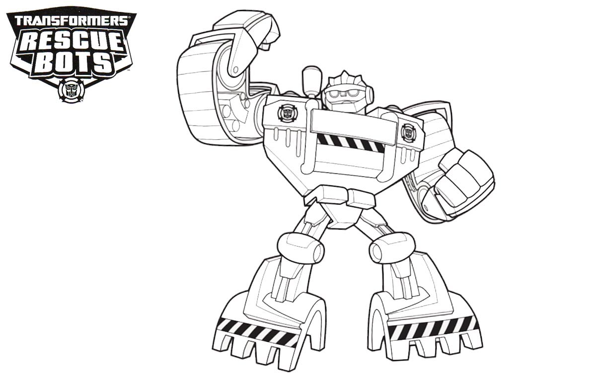 Rescue Bots Coloring Pages - Best Coloring Pages For Kids