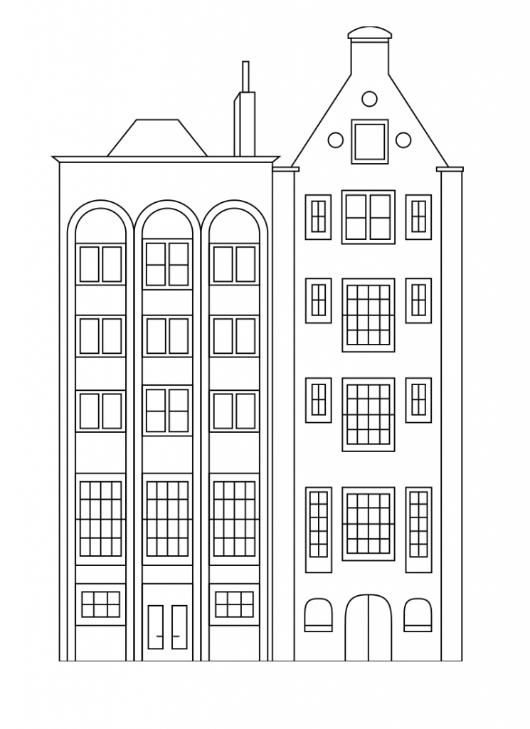 Coloring pages buildings ~ City Coloring Pages - Best Coloring Pages For Kids