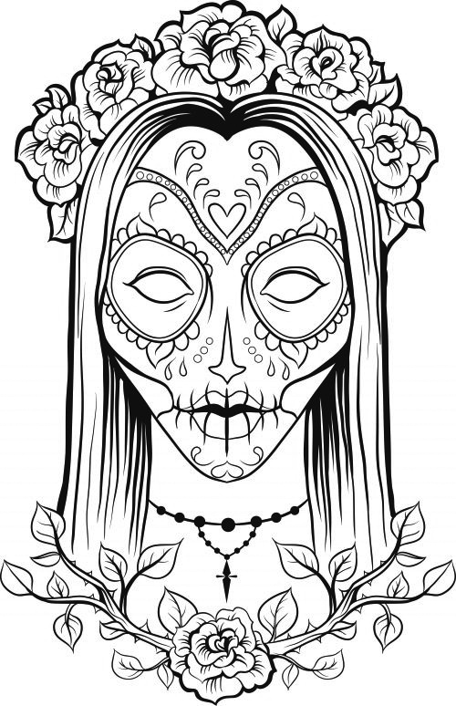 - Skull Coloring Pages For Adults - Best Coloring Pages For Kids