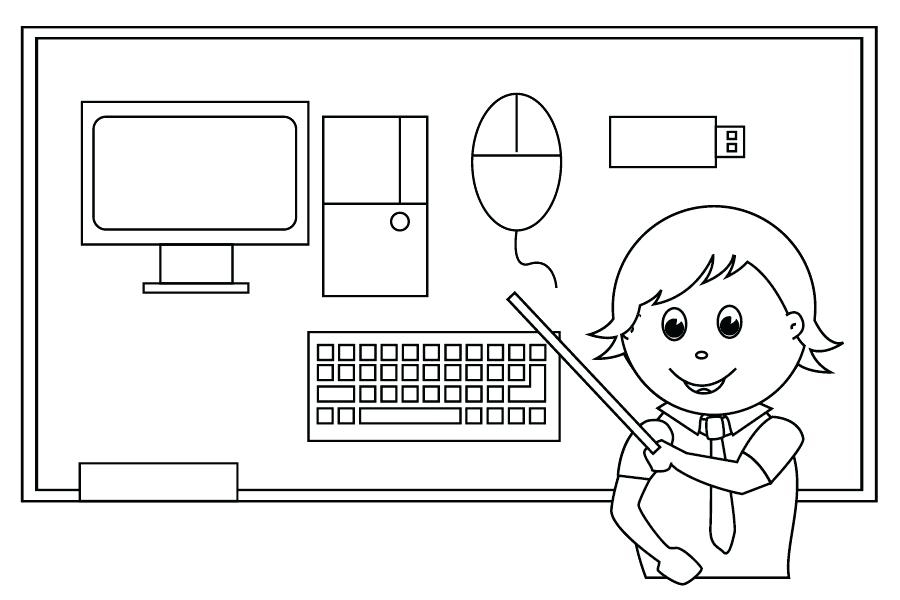 5600 Coloring Pages Computer Pictures