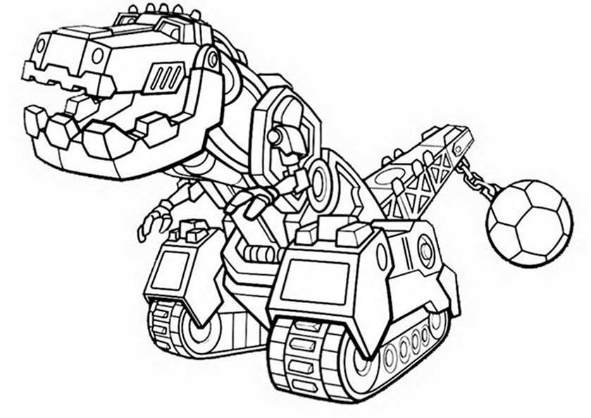 Transformers Rescue Bots Coloring Page