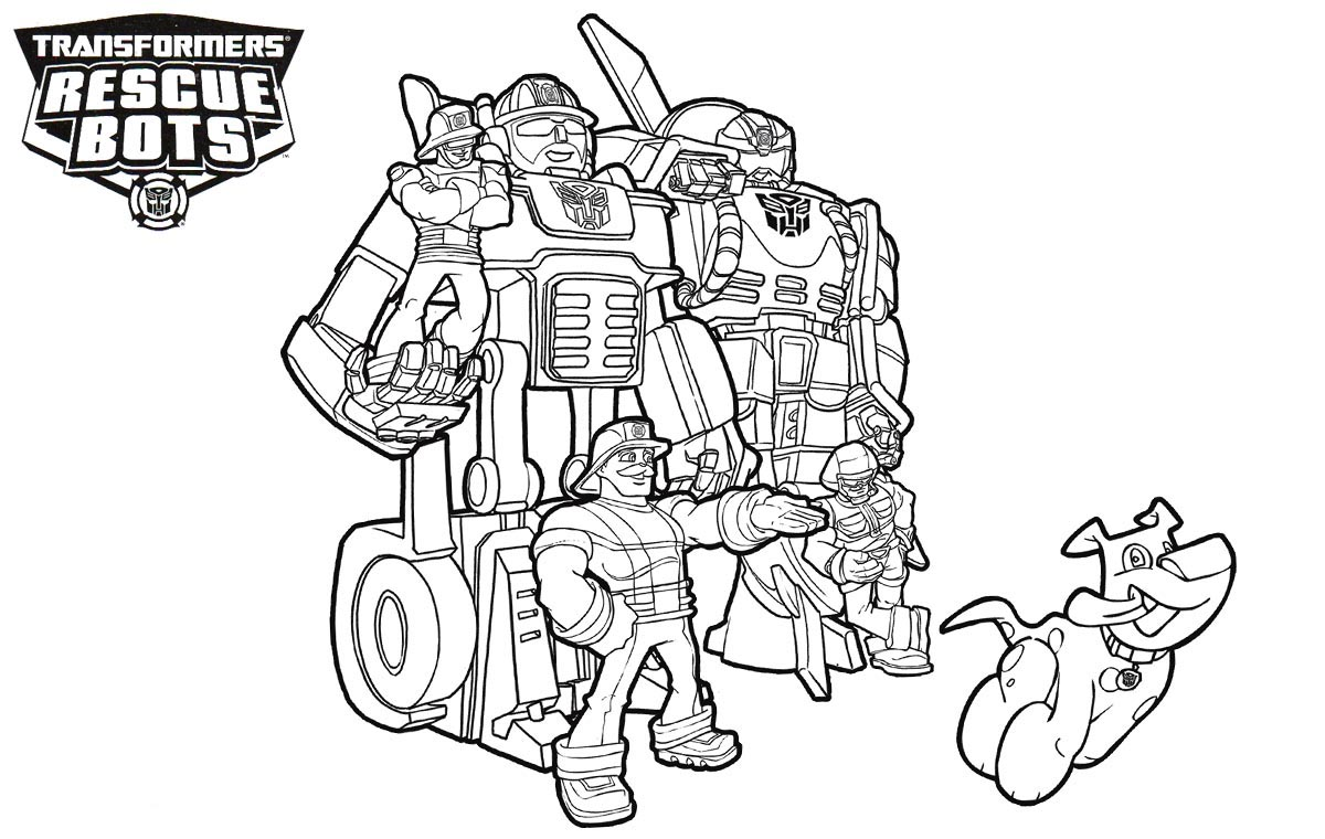 Collection Rescue Bot Coloring Pages Pictures Sabadaphnecottage