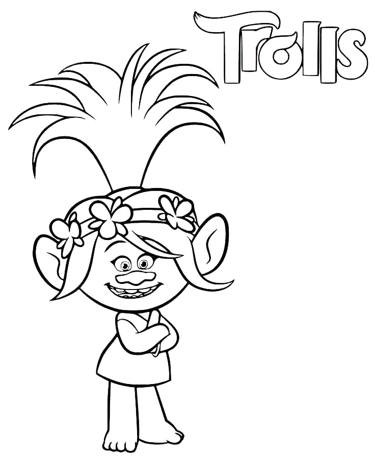 - Poppy Coloring Pages - Best Coloring Pages For Kids