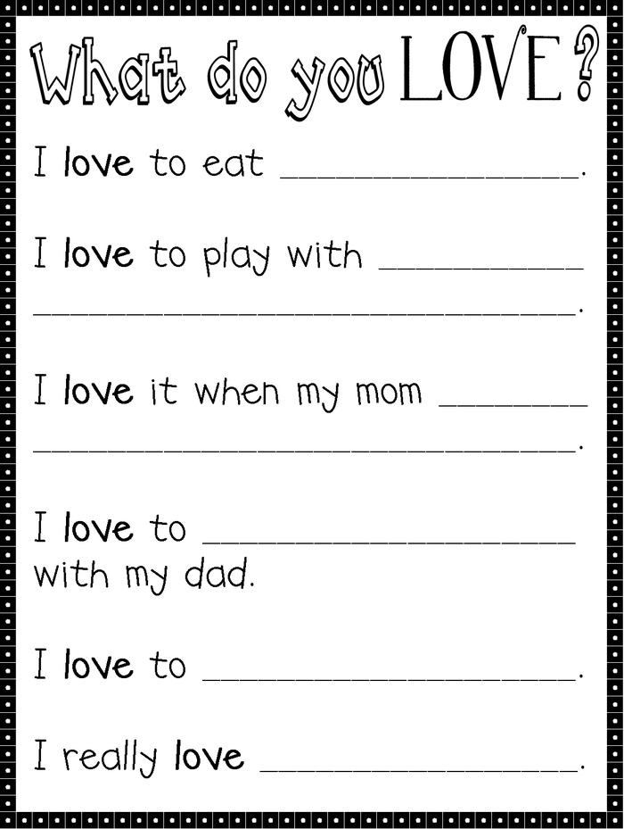 Easy 3rd Grade Writing Worksheet