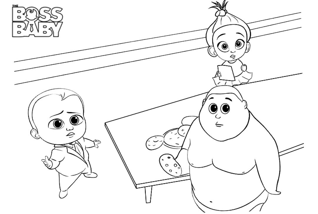 Top 10 The Boss Baby Coloring Pages | Baby coloring pages, Boss ... | 730x1080