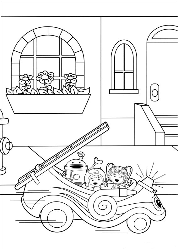 Fun Team Umizoomi Coloring Pages