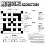 Jumble Crossword Puzzles