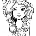 Mia Coloring Page - Mia and Me