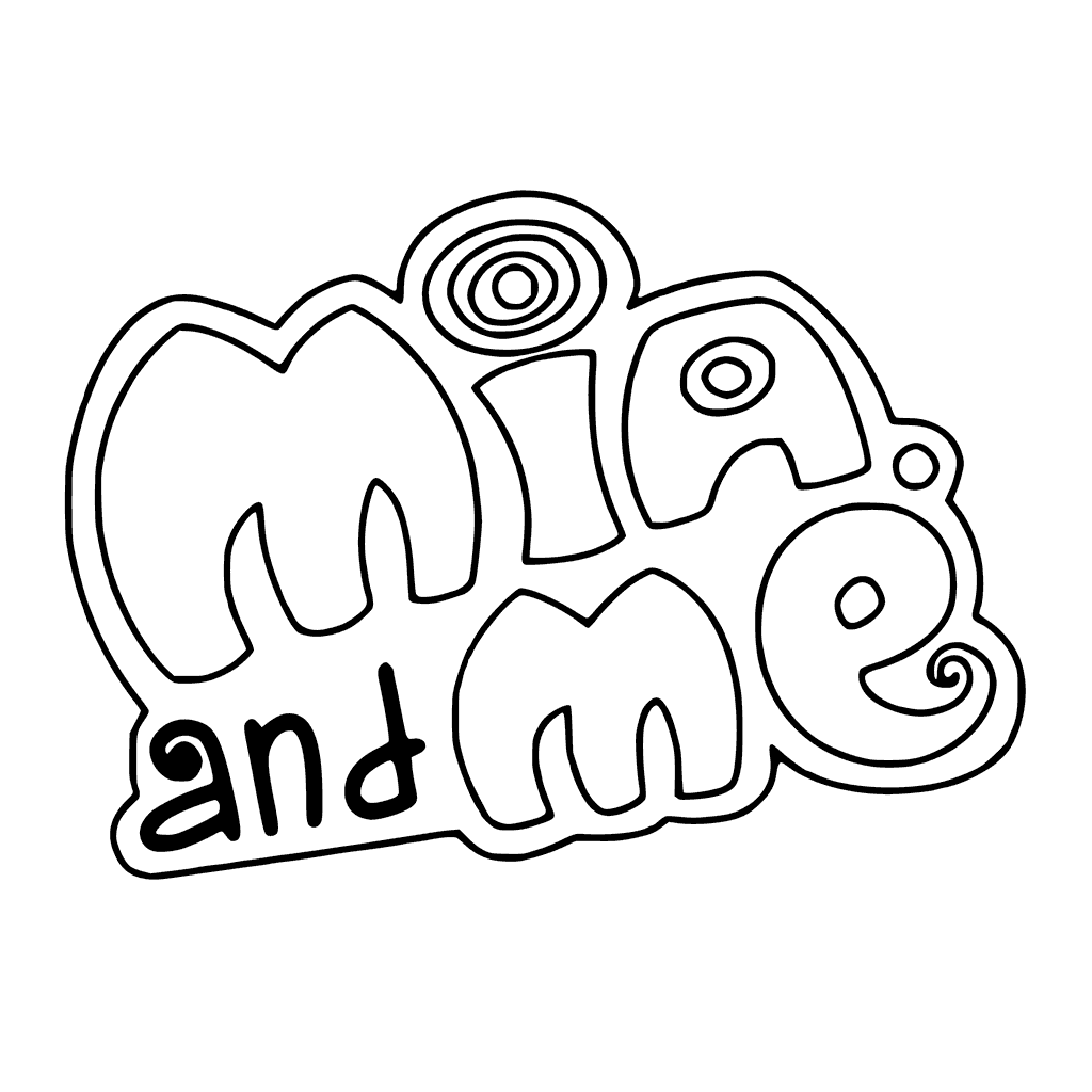 Mia and Me Coloring Page